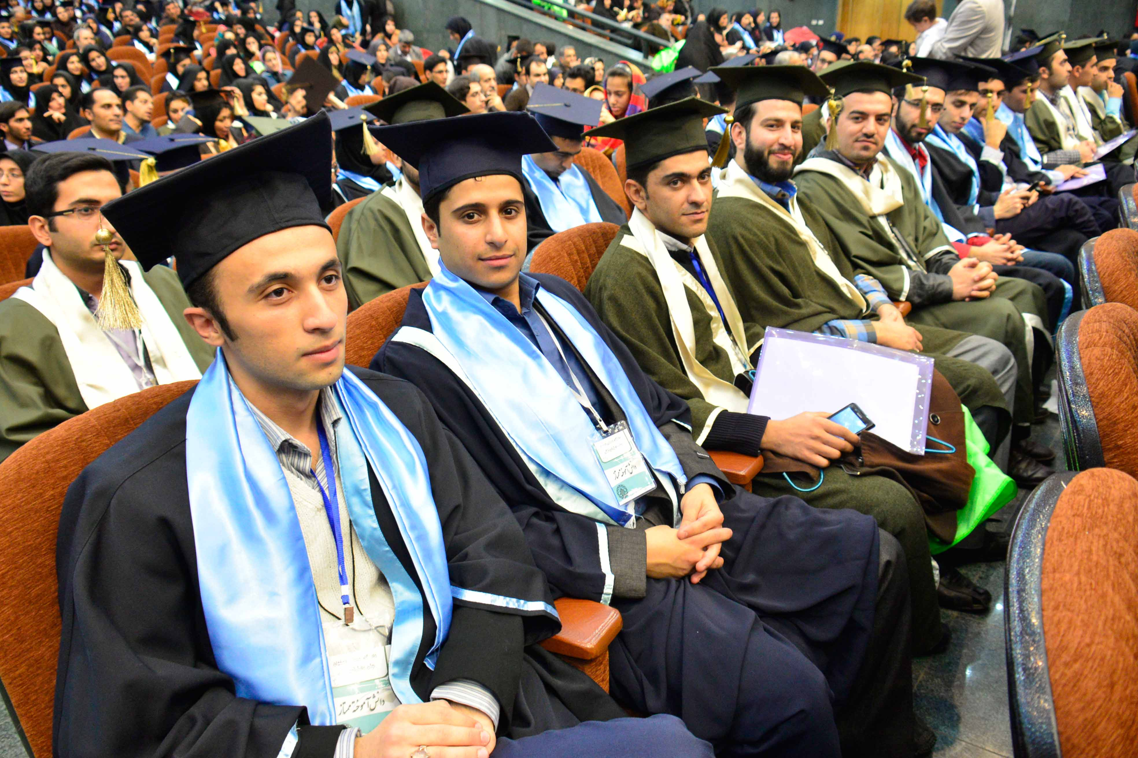 جشن دانش آموختگی سال تحصیلی 93-92