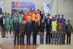 پایان مسابقات والیبال کارکنان دانشگاه صنعتی اصفهان