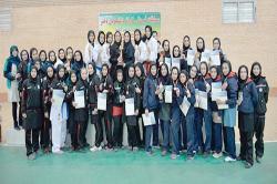 مسابقات قهرمانی کاراته دختران دانشگاه های سراسر کشور در دانشگاه صنعتی اصفهان برگزار شد+گزارش تلویزیونی